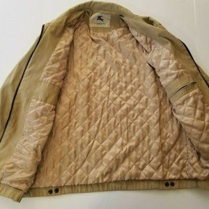 Women's Burberry London Jacket Tan/Khaki/Fawn Sz M
